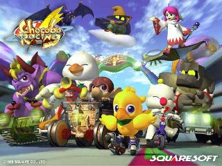 Screenshot Thumbnail / Media File 1 for Chocobo Racing (USA)