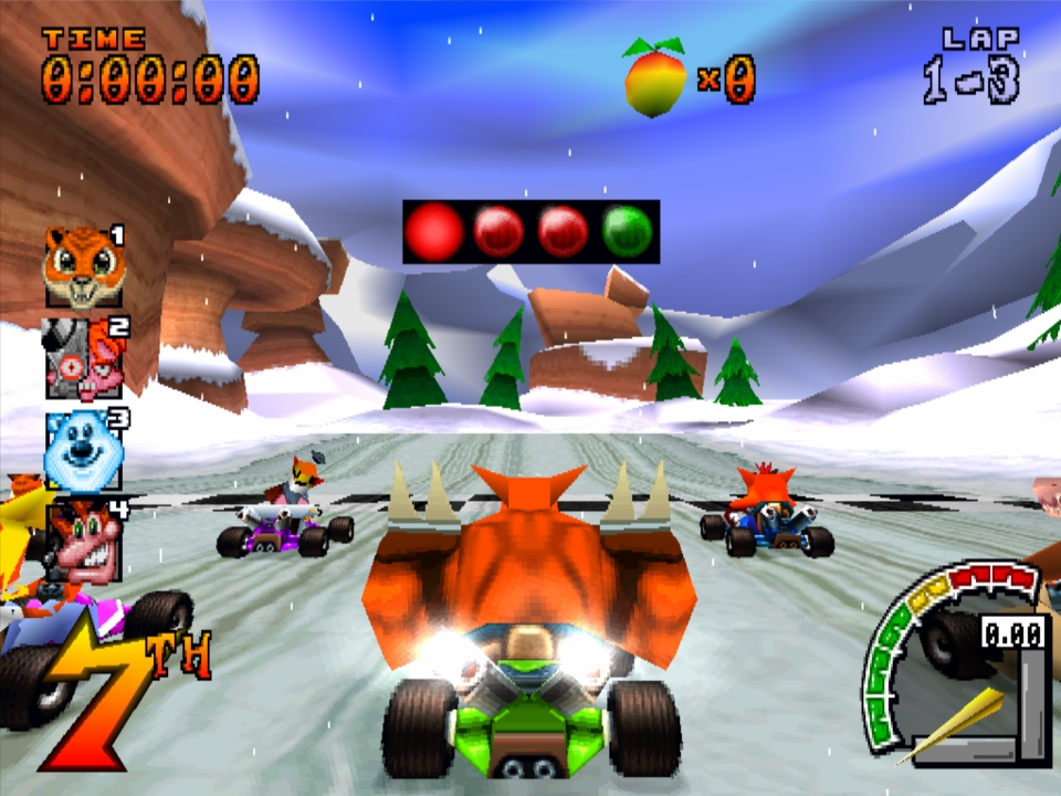 Crash Team Racing (USA) ISO < PSX2PSP ISOs | Emuparadise