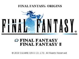 Screenshot Thumbnail / Media File 1 for Final Fantasy Origins (USA)