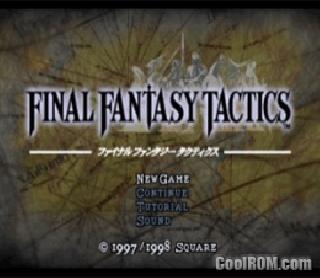 Screenshot Thumbnail / Media File 1 for Final Fantasy Tactics (USA)