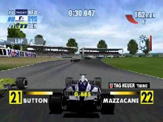 Screenshot Thumbnail / Media File 1 for Formula 1 Championship Season 2000 (USA)