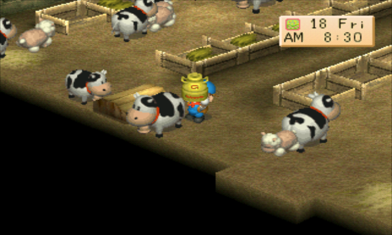 Harvest Moon - Back to Nature (USA) ISO < PSX2PSP ISOs