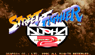 Screenshot Thumbnail / Media File 1 for Street Fighter Alpha 2 (Euro 960229)