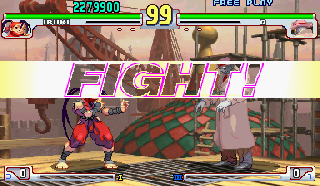 Screenshot Thumbnail / Media File 1 for Street Fighter III 3rd Strike: Fight for the Future (Euro 990608)