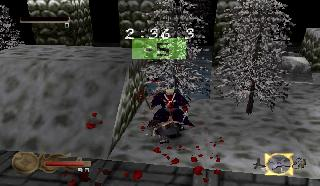 Screenshot Thumbnail / Media File 1 for Rittai Ninja Katsugeki - Tenchu - Shinobi Hyakusen (Japan)