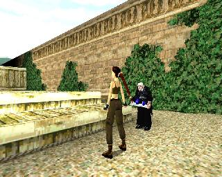 Screenshot Thumbnail / Media File 1 for Tomb Raider 2 (Japan)