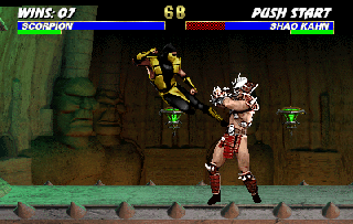 Screenshot Thumbnail / Media File 1 for Ultimate Mortal Kombat 3 (rev 1.0)