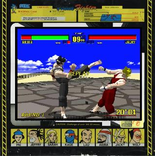 Screenshot Thumbnail / Media File 1 for Virtua Fighter