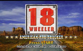 Screenshot Thumbnail / Media File 1 for 18 Wheeler - American Pro Trucker (Europe) (En,Fr,De,Es)