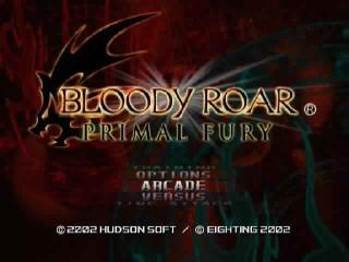 Screenshot Thumbnail / Media File 1 for Bloody Roar - Primal Fury (Europe)