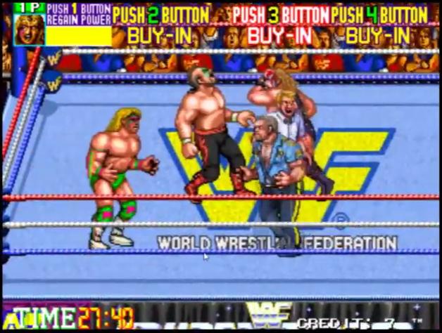 WWF WrestleFest (World) ROM