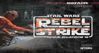 Screenshot Thumbnail / Media File 1 for Star Wars - Rogue Squadron III - Rebel Strike (France)