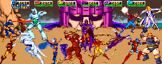 Screenshot Thumbnail / Media File 1 for X-Men (6 Players ver ECB)