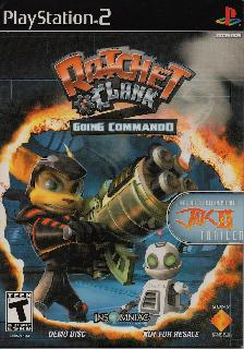 Screenshot Thumbnail / Media File 1 for Ratchet & Clank - Going Commando (USA) (Demo)