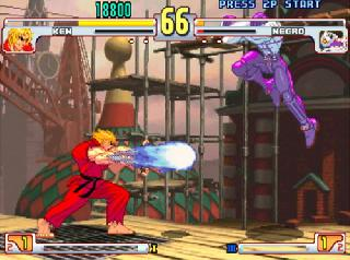 Screenshot Thumbnail / Media File 1 for Street Fighter III - 3rd Strike (USA)