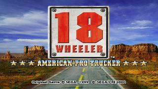Screenshot Thumbnail / Media File 1 for 18 Wheeler - American Pro Trucker (USA)