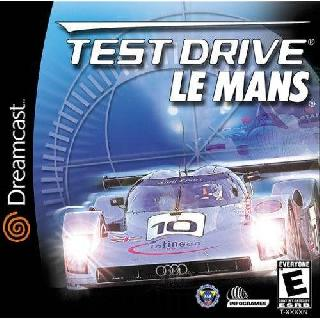 Screenshot Thumbnail / Media File 1 for Test Drive Le Mans (USA)