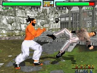Screenshot Thumbnail / Media File 1 for Virtua Fighter 3tb (USA)