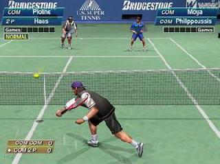 Screenshot Thumbnail / Media File 1 for Virtua Tennis (USA)