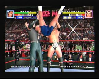 Screenshot Thumbnail / Media File 1 for WWF Royal Rumble (USA)