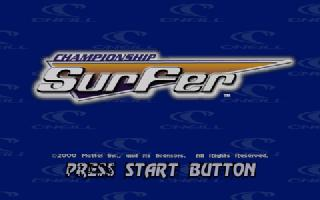 Screenshot Thumbnail / Media File 1 for Championship Surfer (USA)