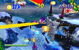 Screenshot Thumbnail / Media File 1 for Christmas NiGHTS into Dreams Sampler (U)