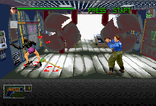 Screenshot Thumbnail / Media File 1 for Die Hard Arcade (U)