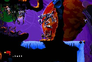 Screenshot Thumbnail / Media File 1 for Earthworm Jim 2 (U)