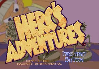 Screenshot Thumbnail / Media File 1 for Herc's Adventures (U)