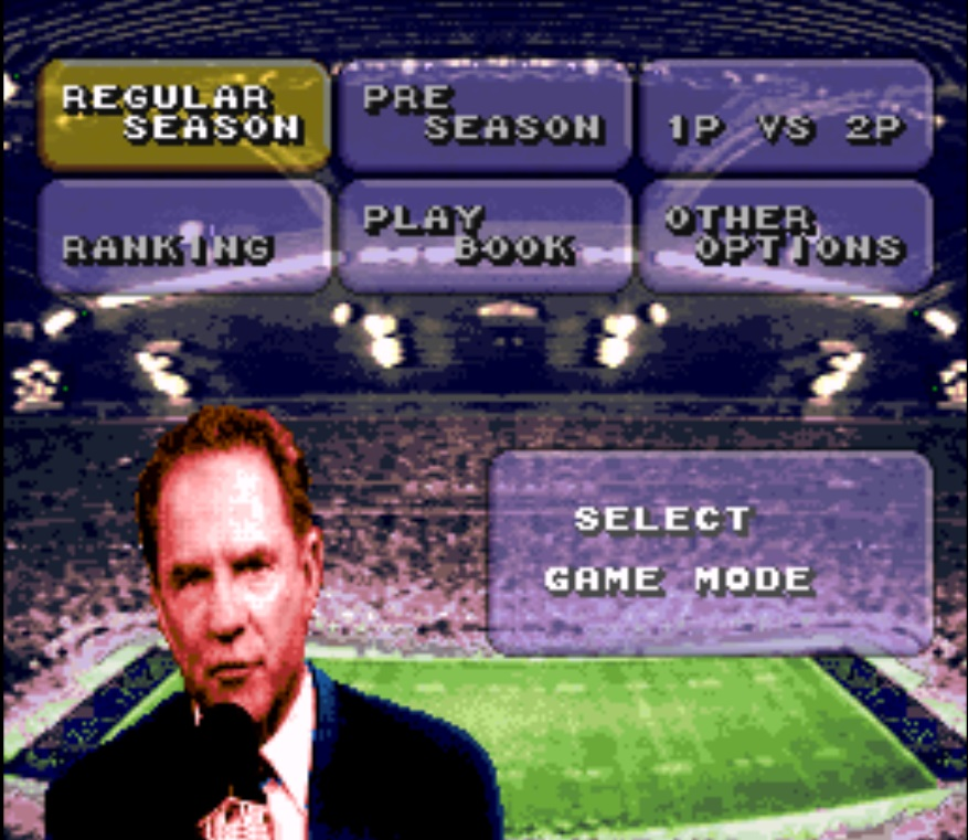 abc Monday Night Football snes/super nintendo snes rom
