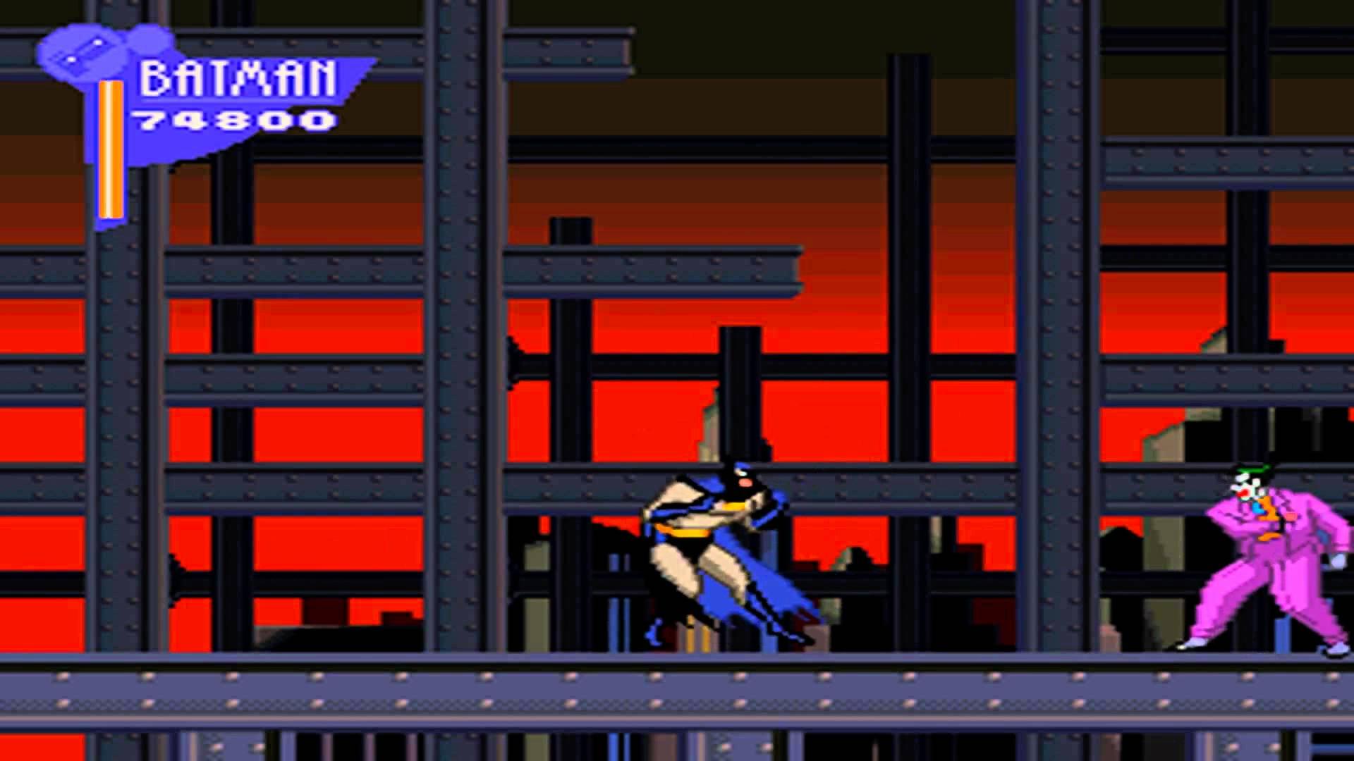 Adventures of Batman & Robin SNES