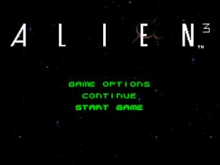 Screenshot Thumbnail / Media File 1 for Alien 3 (USA)