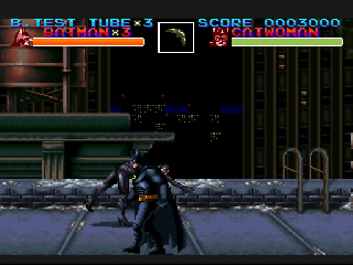 Screenshot Thumbnail / Media File 1 for Batman Returns (Japan) (Sample)