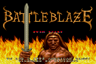 Screenshot Thumbnail / Media File 1 for Battle Blaze (USA) (Beta)