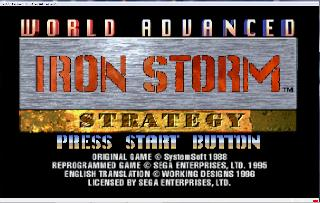 Screenshot Thumbnail / Media File 1 for Iron Storm (U)