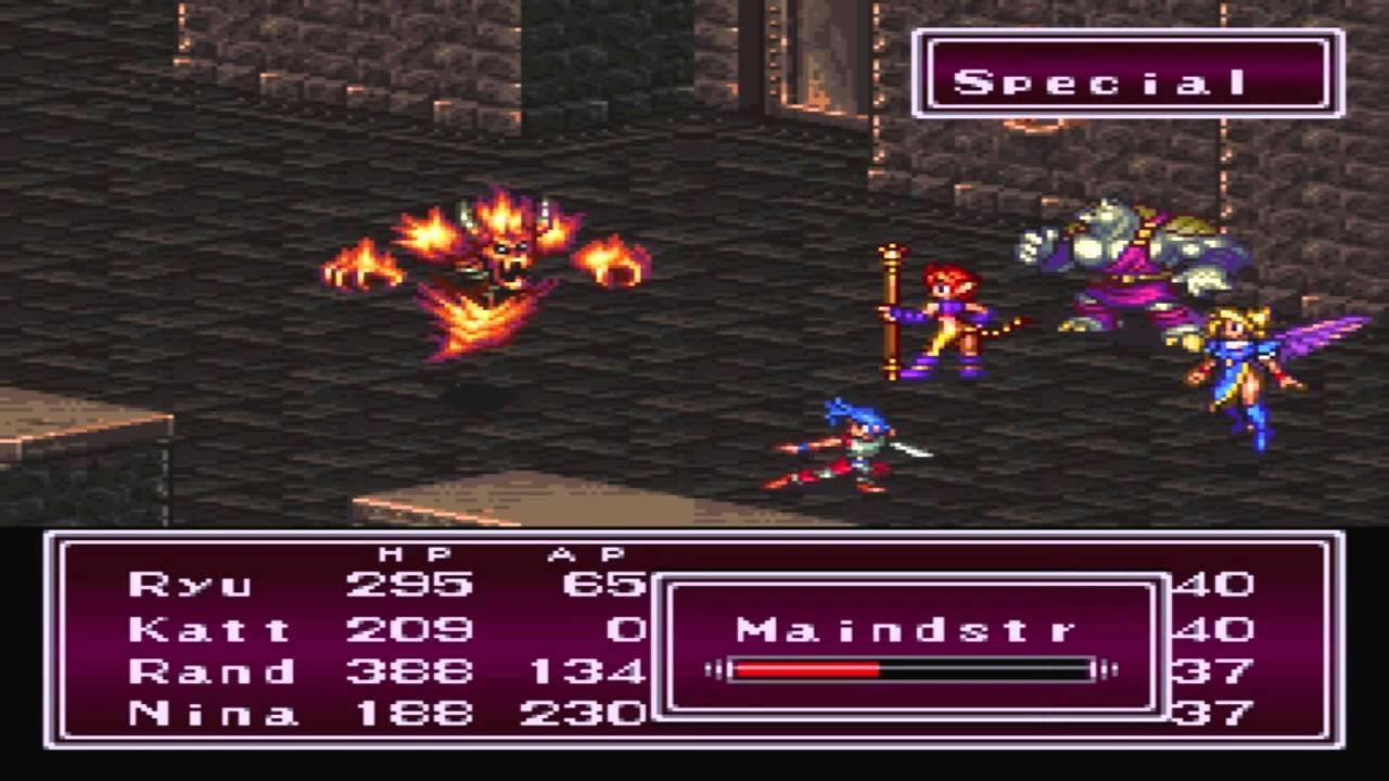 Breath of Fire II (USA) ROM < SNES ROMs | Emuparadise