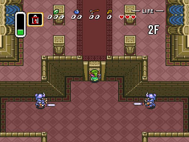 BS Zelda no Densetsu - Kamigami no Triforce (Japan) ROM < SNES ROMs