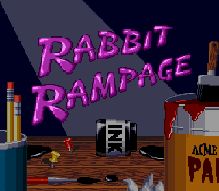 Screenshot Thumbnail / Media File 1 for Bugs Bunny in Rabbit Rampage (Europe)