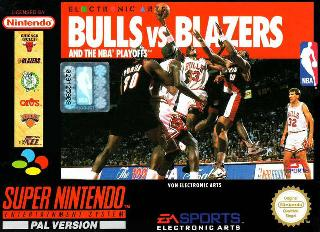 Screenshot Thumbnail / Media File 1 for Bulls vs Blazers and the NBA Playoffs (Europe) (Rev A)