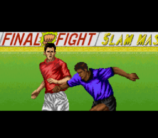 Screenshot Thumbnail / Media File 1 for Capcom's Soccer Shootout (USA) (Beta)