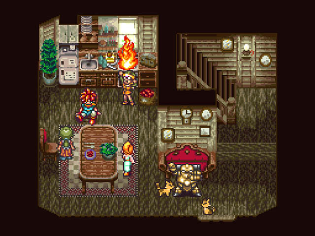 Image result for chrono trigger screenshot snes