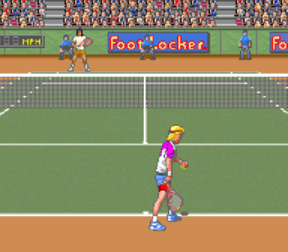 Screenshot Thumbnail / Media File 1 for David Crane's Amazing Tennis (Europe)