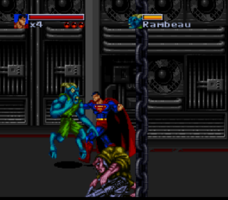 Screenshot Thumbnail / Media File 1 for Death and Return of Superman, The (Europe)