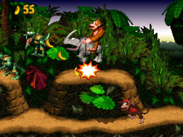Image result for Donkey Kong Country SNES