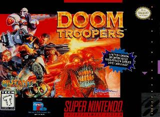 Screenshot Thumbnail / Media File 1 for Doom Troopers (USA)