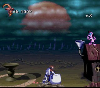 Screenshot Thumbnail / Media File 1 for Earthworm Jim 2 (USA) (Beta)