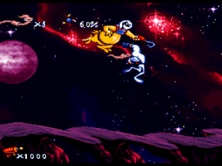 Screenshot Thumbnail / Media File 1 for Earthworm Jim (USA) (GamesMaster Special Edition)