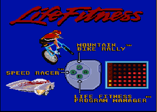 Screenshot Thumbnail / Media File 1 for Exertainment Life Fitness Mega Cart (Europe) (Proto)