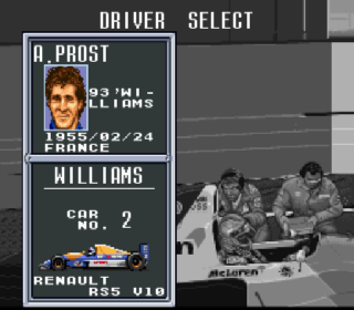 Screenshot Thumbnail / Media File 1 for F1 Pole Position 2 (Europe)