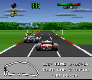 Screenshot Thumbnail / Media File 1 for F1 World Championship Edition (Europe)